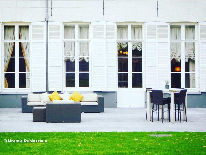 Garden party, Bruges