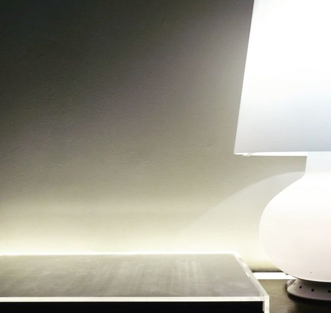 This photo was taken in Antwerp in a boutique hotel which opened its doors some time ago. This lamp clearly shows that simplicity and style can be a perfect design match.