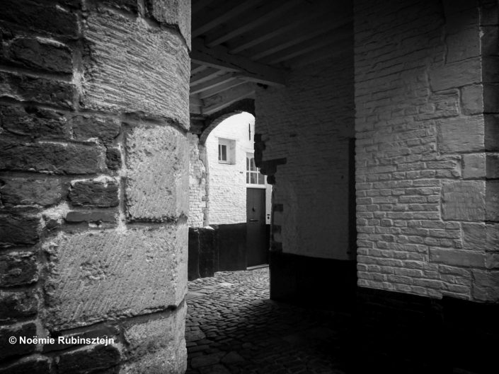 This photo was taken in Antwerp in its old city.