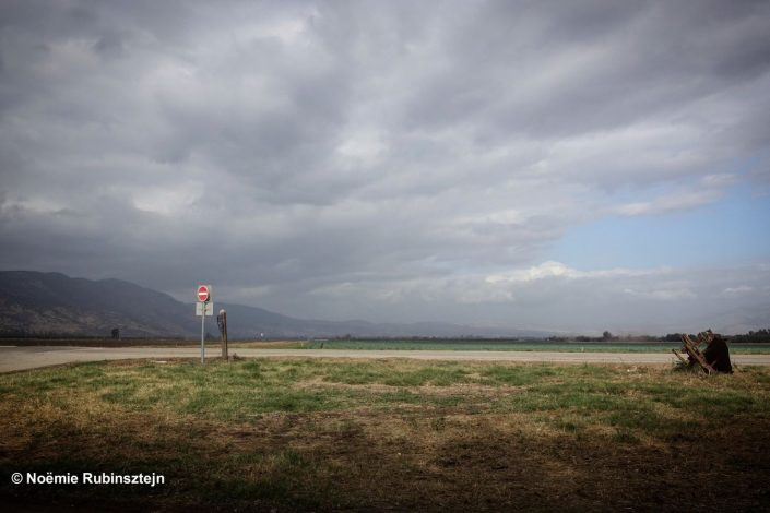 This photo was taken in the Hula Valley and features the magnificent view of the valley.